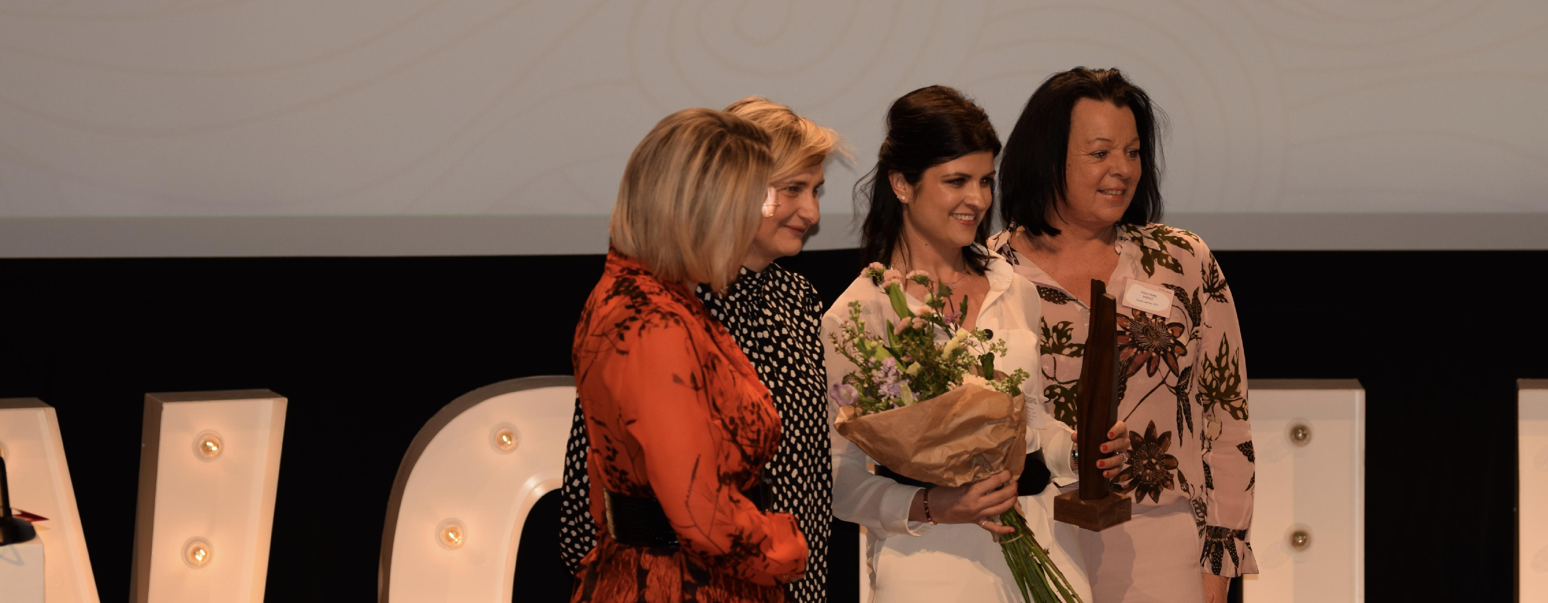 Elien Pieters is 'Vrouwelijke ondernemer van het jaar'